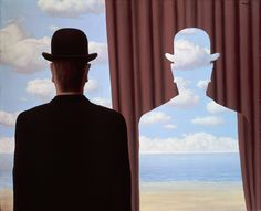René Magritte – La Décalcomanie, 1966
