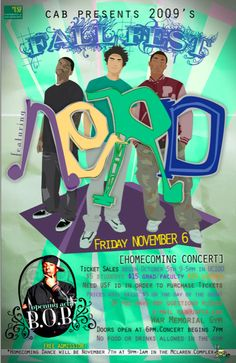 2009 Campus Activity Board's Fall Fest Concert   ft. NERD