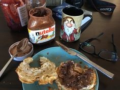 #sunday morning lapse in willpower. Damn you @nutella