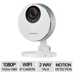 Alternate view 1 for Samsung Smartcam HD Pro Wi-Fi IP Camera SNH-P6410