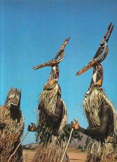 Kurumba Adone antelope mask.