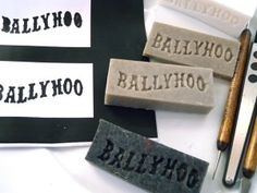 DIY soap stamp