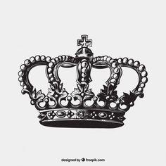 realistic crown drawing - Buscar con Google