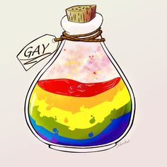 A bottle of gay Pansexual Pride, Lgbt Memes, Gay Aesthetic, Lesbian Pride, Lgbt Community, Gay Art, Just In Case, At Least, Gay Comics