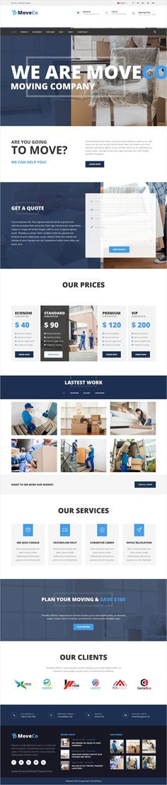 MoveCo is premium #WP #template for #webdev moving #company, local delivery service or logistics company website with 4 unique homepage layouts download now➩ https://themeforest.net/item/moveco-logistics-moving-company-wordpress-theme/17955886?ref=Datasata