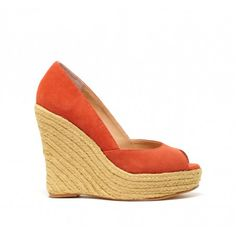 Pretty wedges are the way to go for a summer outdoor wedding. Someone I know, please get married this summer -- I need an excuse to buy these!