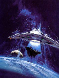 Sci-Fi art of Vincent Di Fate - Джедайские вести