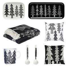 Olohuone   Sisustusblogi Marimekko, My Dream Home, Black And White, Christmas, Design, Decor, Xmas, My Dream House, Decoration