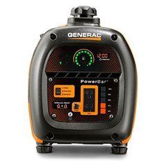 Generac 6866 iQ2000 Gasoline Quiet Portable Inverter Generator power panel