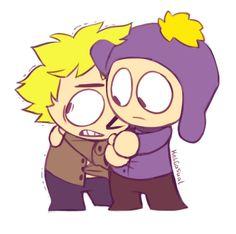 Craig x Tweek ~ so cute Craig South Park, Tweek South Park, South Park Anime, South Park Fanart, Anime Chibi, Tweek And Craig, Best Cartoons Ever, Adventure Time Finn, Comic Pictures