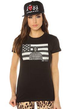 ASAP Rocky Tee Flag Tee in Black : Karmaloop