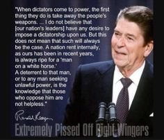 Ronald Reagan Quote  ~Happy Presidents Day~
