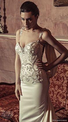 gala galia lahav spring 2017 sleeveless sweetheart lace straps mermaid lace wedding dress (707) bv illusion back