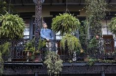 Steeped in history, an author's French Quarter apartment offers inspiration French Creole, Always On My Mind, Plantation, Do You Know What, French Quarter, Alter, New Orleans, Townhouse, Landscape Design