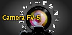 Camera FV-5 v1.38  Requirements: 2.2+  Overview: Camera FV-5 is a professional camera application for mobile devices, that puts DSLR-like manual controls in your fingertips.