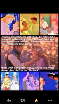 Good point. That explains a lot...about why I love Disney movies AND why I seek that.