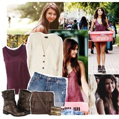 2ef5b819bb558 vampire diaries elena style · Elena Gilbert Style Tv Show Outfits, Fandom  Outfits, Fall Fashion Outfits, Fashion Tv