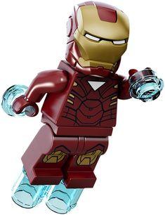 Amazon.com: Lego Marvel Super Heroes Iron man Minifigure: Toys & Games