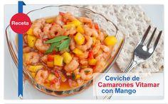 Ceviche de Camarones Vitamar con Mango #vitamar #ocinademar http://vitamar.com.co/ceviche-de-camarones-vitamar-con-mango/