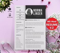 Professional Resume Templates / Simple CV Template by GraphicParadise