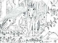Image result for inkleur prente Free Coloring Pages, Moose Art, Unicorn, Art Therapy, Animals, Image, Free Colouring Pages, Animales, Animaux