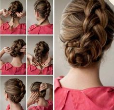 Tutorial for this cute hair style