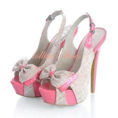 CUTE HIGH HEEL ok, no joke I need these!! Omg, too cute!!!!
