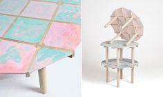 Timber la table à couler par Vincent Tarisien - Blog Esprit Design