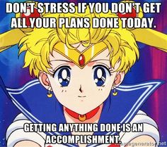 Self-Positive Sailor Moon
