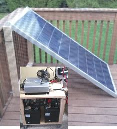 Small Home / Apt. Solar Electricity, & Save Money : 5 Steps (with Pictures) Solar Power Energy, Solar Energy Panels, Solar Energy System, Small Solar Panels, Best Solar Panels, Sistema Solar, Solar Roof Tiles, Solar Projects, Energy Projects