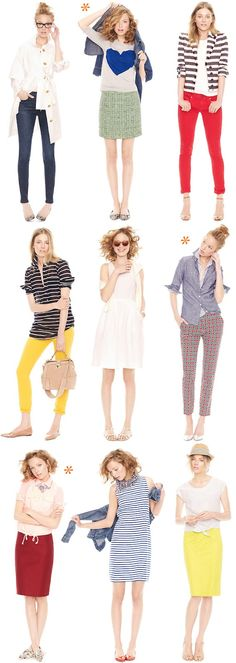 Über Chic for Cheap: Inspired: J.Crew Style Guide + 30% Off