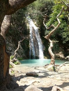 Cyprus, Waterfalls, Beautiful World, Greece, Road Trip, Places To Visit, Paintings, Travel, Outdoor