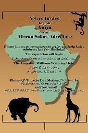 safari party invites - Google Search