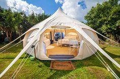 Yes please! Ready to go camping now. 5m Lotus Belle Original Deluxe - Deposit* – Lotus Belle UK