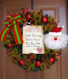 Hey, I found this really awesome Etsy listing at http://www.etsy.com/listing/160019868/santas-wish-list-wreath