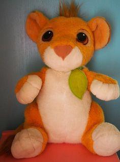 Vintage 1993 Disney Mattel Lion King Talking Baby Simba Plush Stuffed Animal | Toys & Hobbies, TV, Movie & Character Toys, Disney | eBay!