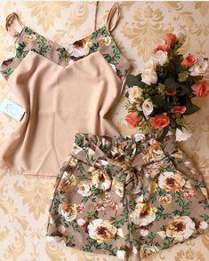 Look Fashion, Hijab Fashion, Fashion Dresses, Classy Outfits, Cool Outfits, Summer Outfits, Sleepwear Women, Lingerie Sleepwear, Ropa Interior Babydoll