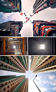 A New Perspective of the Day: Hong Kong's Vertical Horizon
