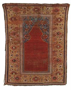 Transylvanian Prayer Rug, West Anatolia, early 18th c