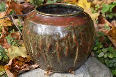Michael Adams   Aurora Studios   Arts and Crafts   Warty Wrinkled Hammered Copper   no.1 of 12