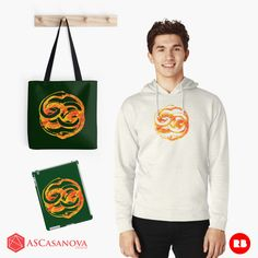 If you are a neverending story´s fan you would love the Auryn collection by ASCasanova, find it in Redbubble. http://www.redbubble.com/people/ascasanova/works/15425599-auryn?asc=u