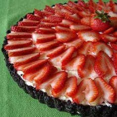 "No-Bake ""Valentine"" cheesecake... (Image: iVillage.com)"