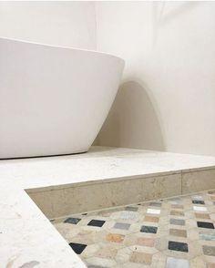 Streets of Rome - Trio Ceramica - Sydney Tile Shop Bathroom Floor Tiles, Tile Floor, Marble Mosaic, Bad, Natural Stones, Rome, Ocean, Mosaics, Inspiration