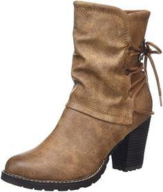 Handtaschen, Stiefel, Tamaris Schuhe, Damen, Braun Werden, Maskat, Biker, aa1c6e1015