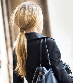 10 Hairstyles You Can Do in Less Than 30 Seconds via @ByrdieBeauty