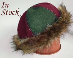 #Medieval #hat #Birka #Viking #clothing #reenactment #Norse #cap #headdress #Woolen #round