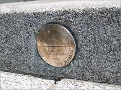 """MILE HIGH: The 13th step of the State Capital building in Denver is """"exactly"""" 1 MILE ABOVE SEA LEVEL."""