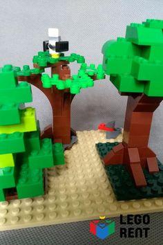 Naučíme vás postaviť tie najkrajšie stromy a k nim vtáky primeranej veľkosti. Lego, Legos
