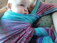 #hipcarry using a #poppinsfinish using a #oscha #roses #kona #wearific