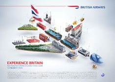 Together with BBH Singapore we made a mix of illustration and creative retouch to bring to life new ad for British Airways - Colombo to London Route.